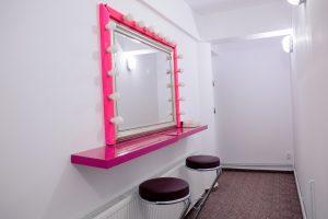 oglinda de make-up studio