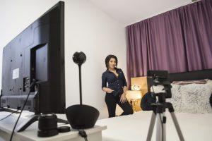 studio cu pat videochat timisoara